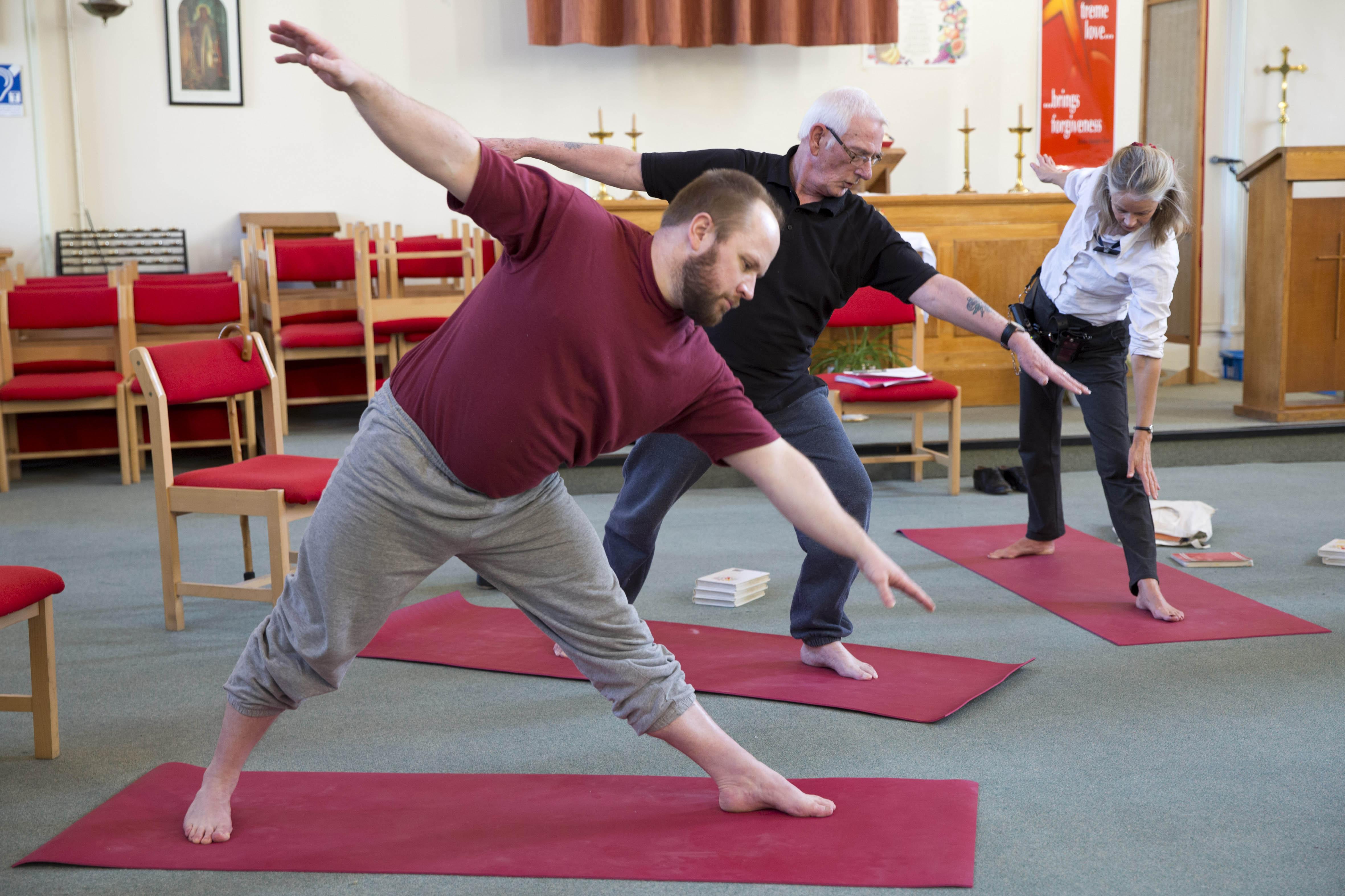 Yoga Classes In Prison - The Prison Phoenix Trust